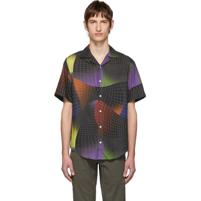 Phipps Chemise multicolore String Theory Officer