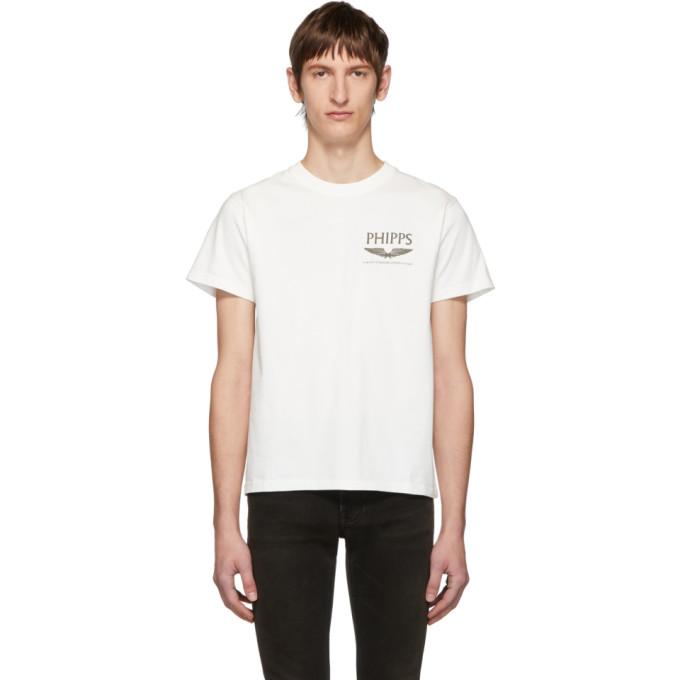 Phipps T-shirt a logo blanc Flight