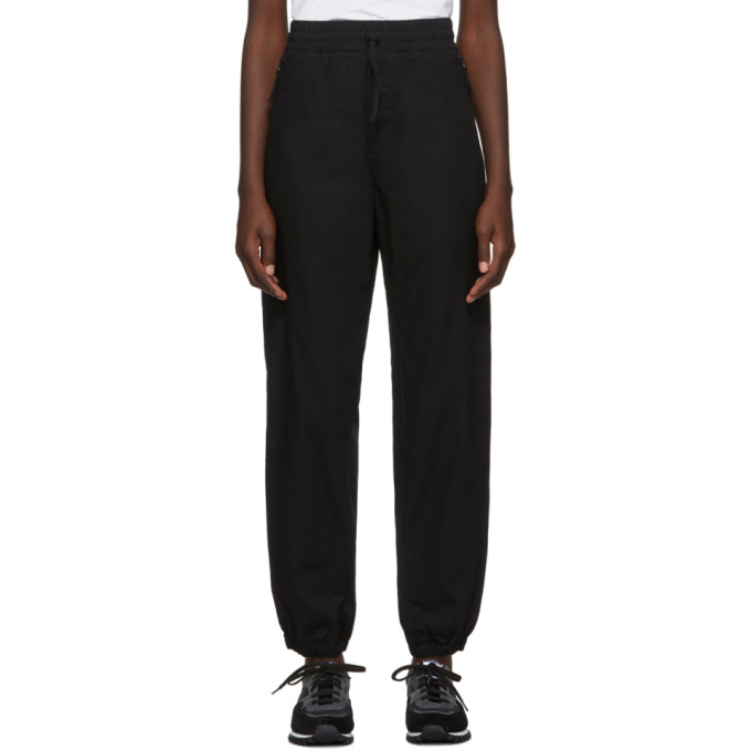 Carhartt Work In Progress Pantalon de survetement noir Valiant Jogger