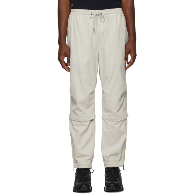 Moncler Off-White Corduroy Sport Trousers