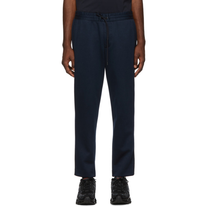Moncler Navy Sports Trousers