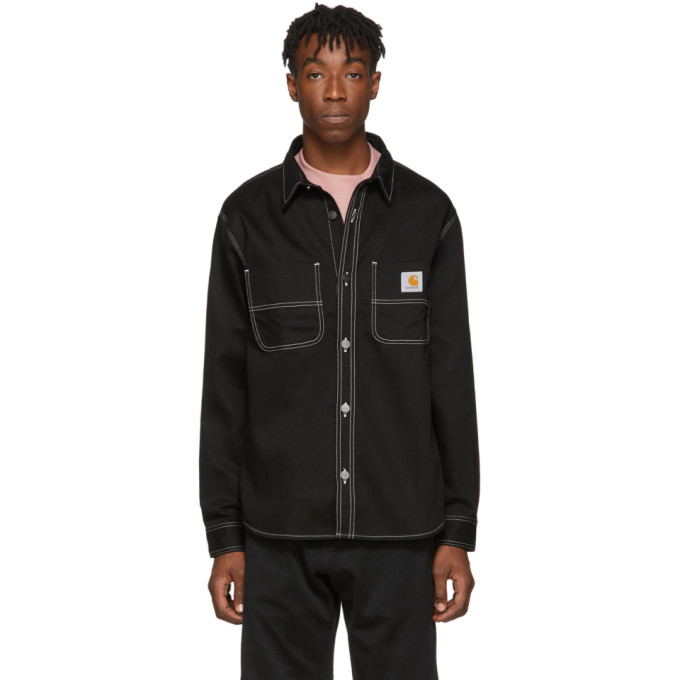 Carhartt Work In Progress Chemise noire Chalk Jacket
