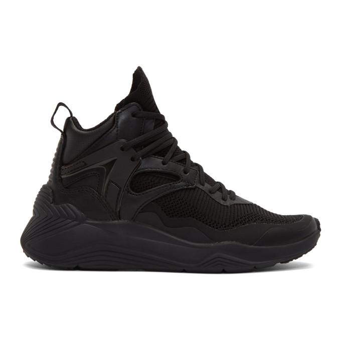 McQ Alexander McQueen Black Sodai High-Top Sneakers