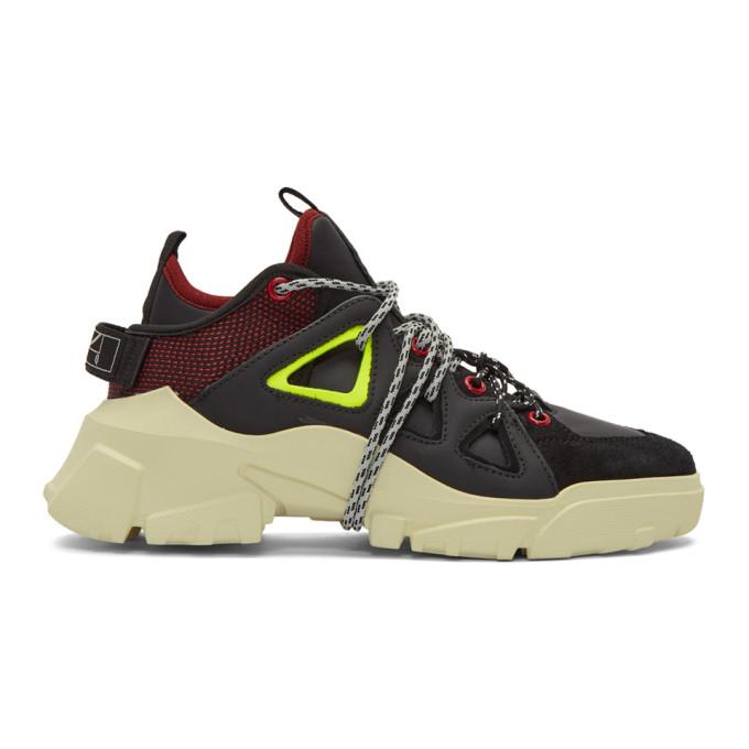 McQ Alexander McQueen Black Orbyt Sneakers