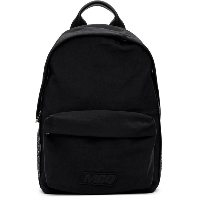 Mcq By Alexander Mcqueen Backpacks MCQ ALEXANDER MCQUEEN BLACK CLASSIC BACKPACK