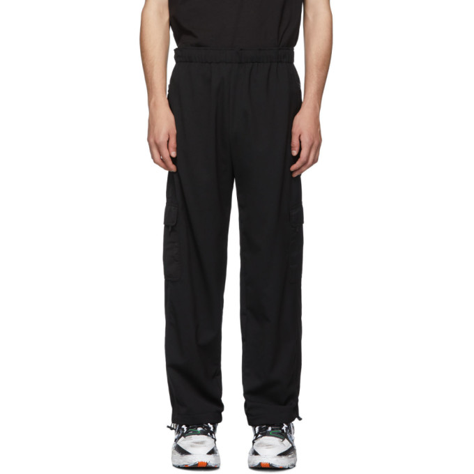 McQ Alexander McQueen Black Tech Lounge Pants