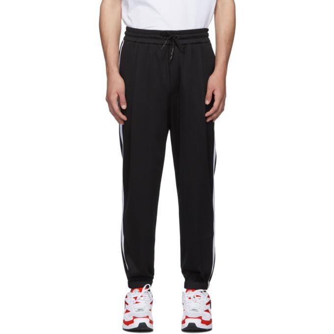 McQ Alexander McQueen Black Sport Stripe Lounge Pants