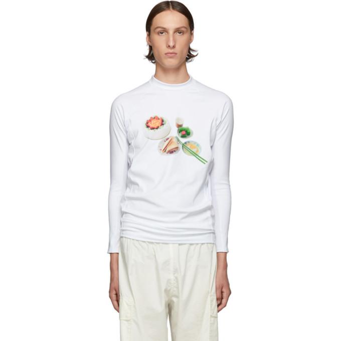 Goodfight T-shirt a manches longues blanc Savage Gardener Rash Guard
