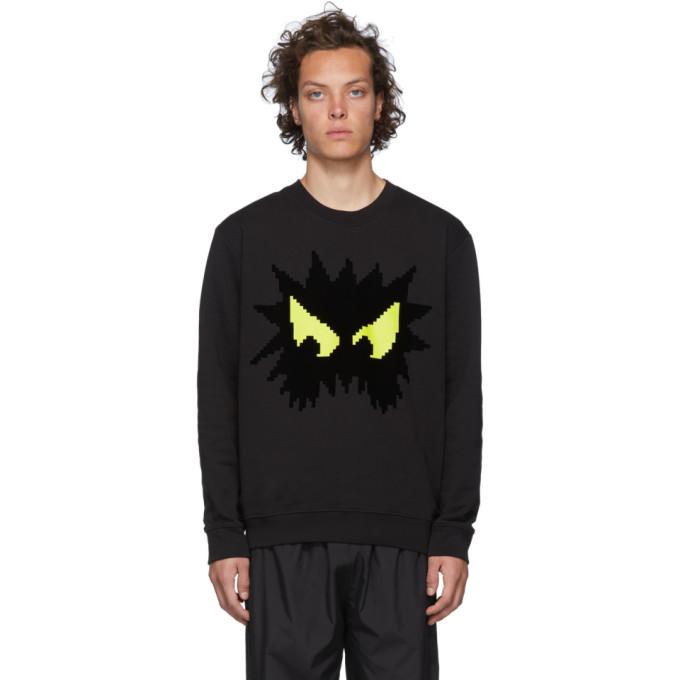Mcq By Alexander Mcqueen T-shirts MCQ ALEXANDER MCQUEEN BLACK CHESTER SWEATSHIRT