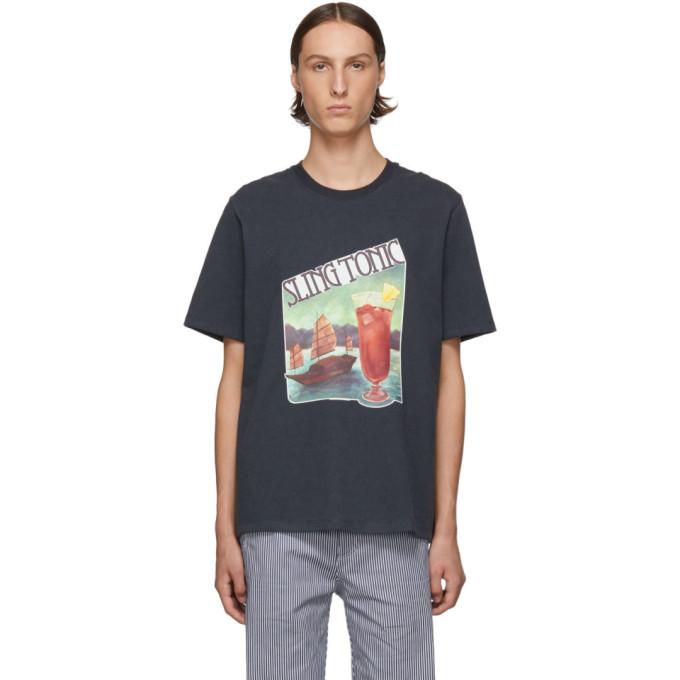 Goodfight T-shirt noir Sling Tonic