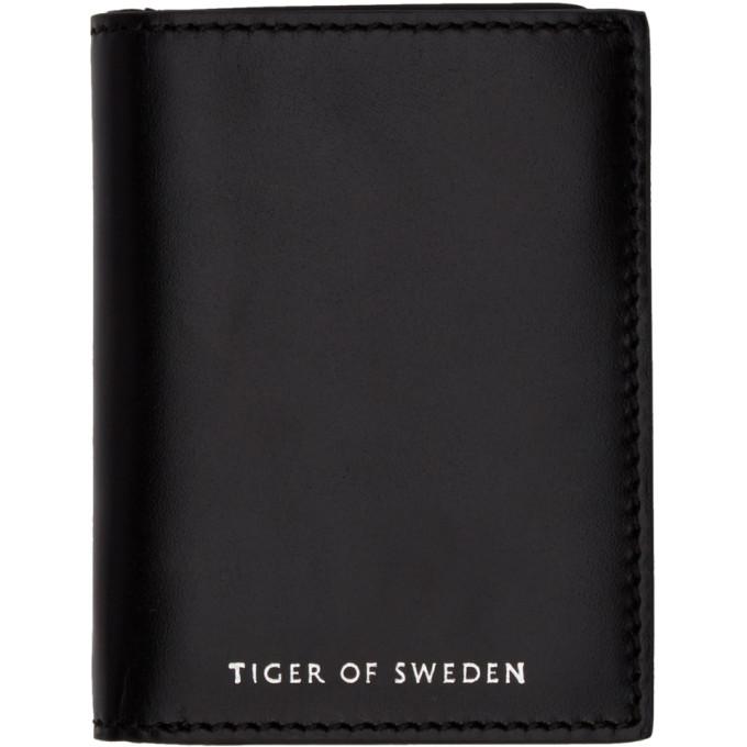 Tiger of Sweden Black Whin Wallet