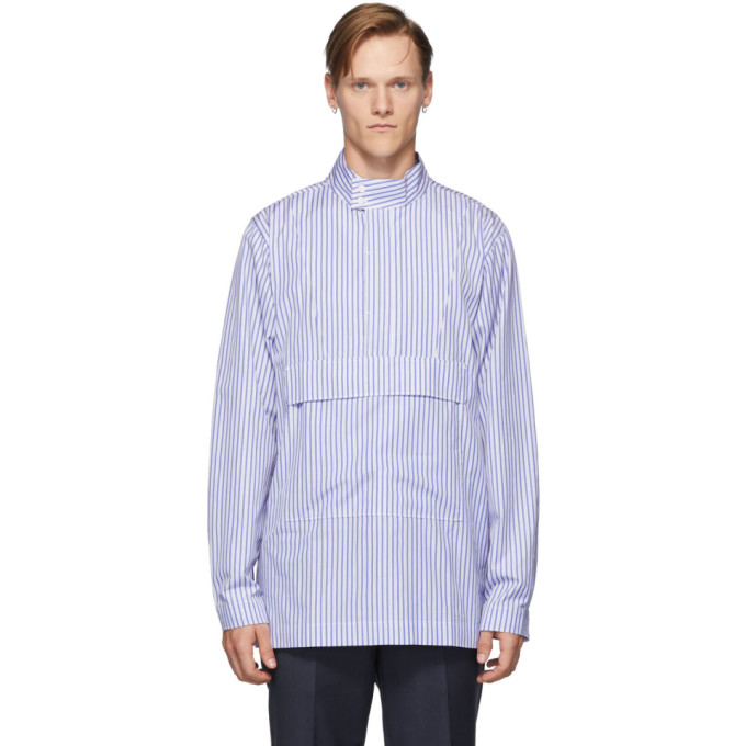 Tiger of Sweden Chemise bleue Fyrsil
