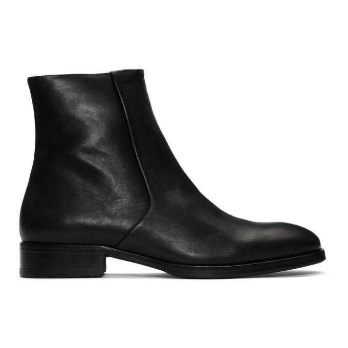 Tiger of Sweden Black Bolen Zip Boots