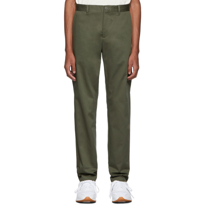 Norse Projects Green Albin Chino Trousers