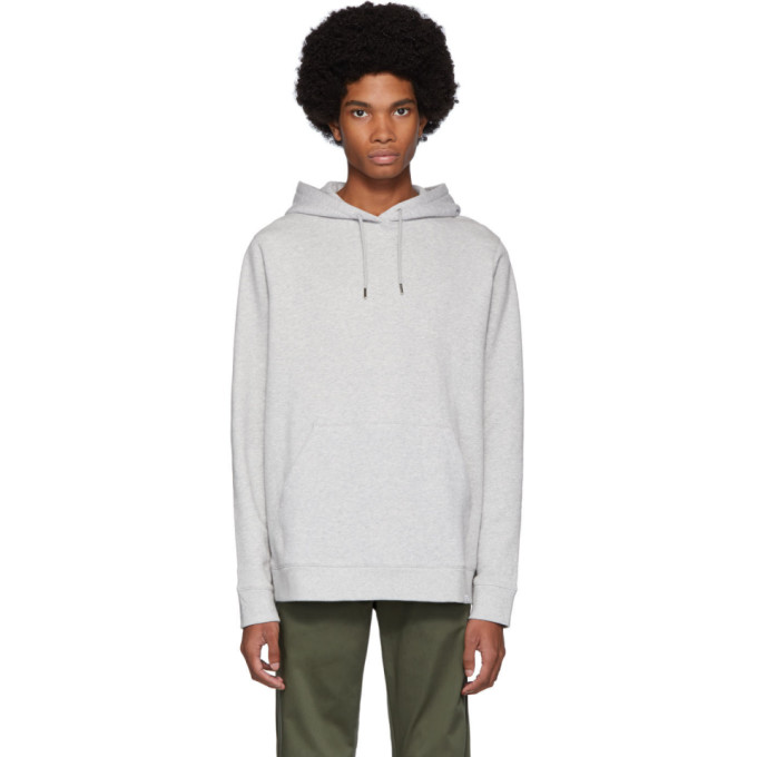 Norse Projects Pull a capuche gris Vagn