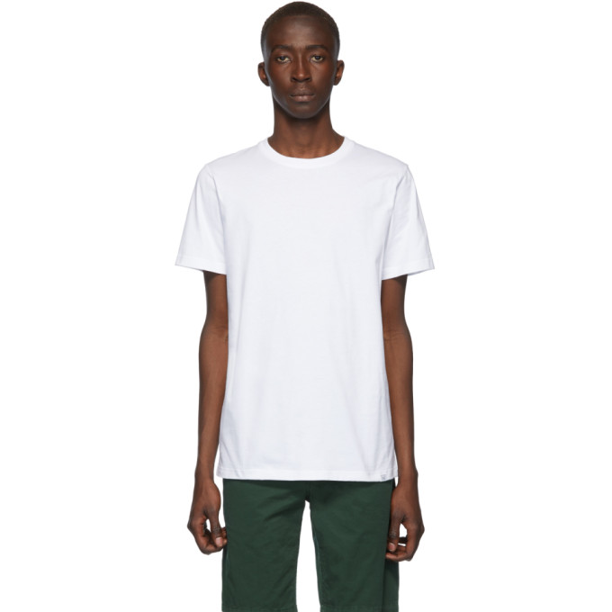 Norse Projects T-shirt blanc Standard Niels