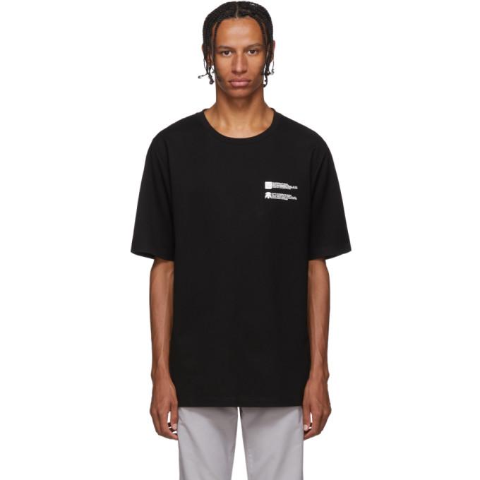Xander Zhou T-shirt en jersey noir