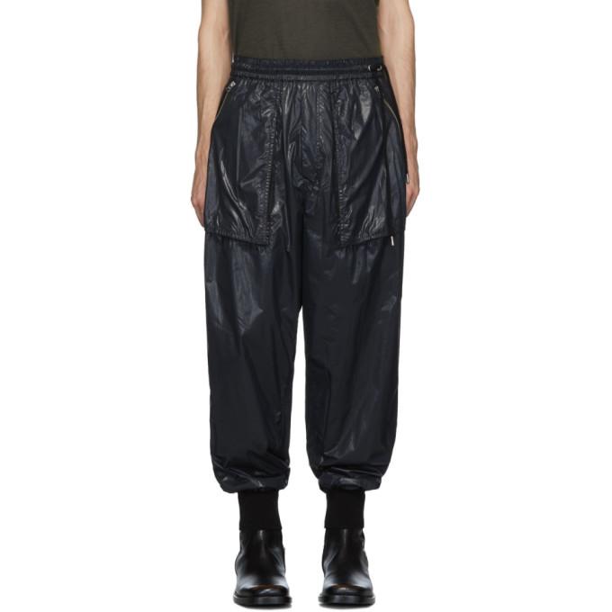BED J.W. FORD Pantalon de survetement en nylon noir