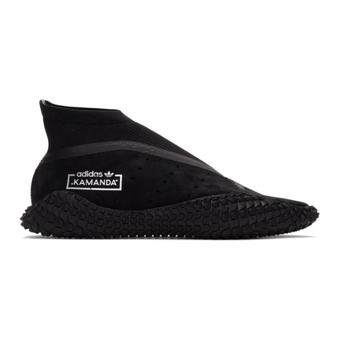 BED J.W. FORD Baskets noires Kamanda BF edition adidas Originals