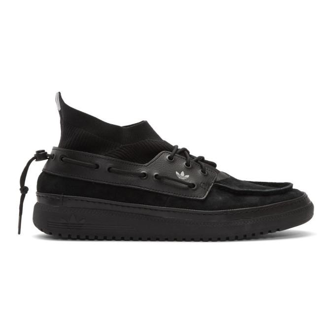 BED J.W. FORD Baskets noires Saint Florence BF edition adidas Originals