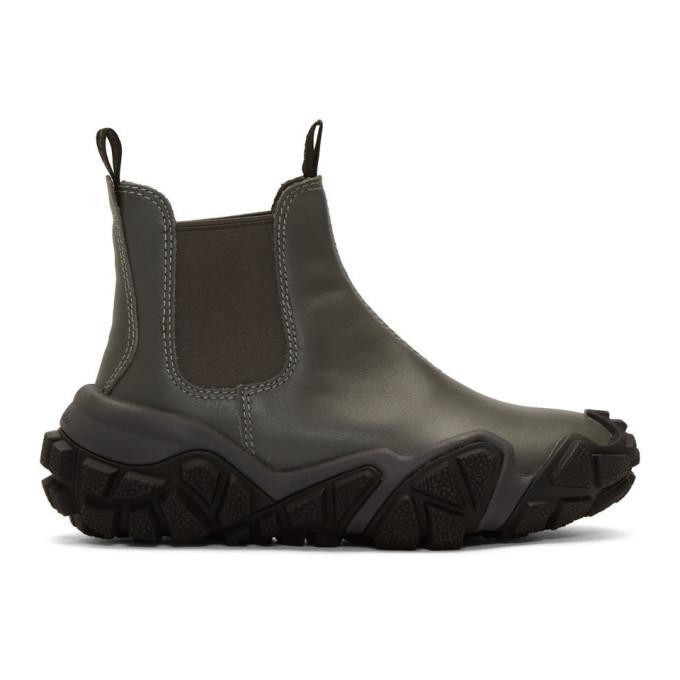 Acne Studios Green Bladen Gum Boots