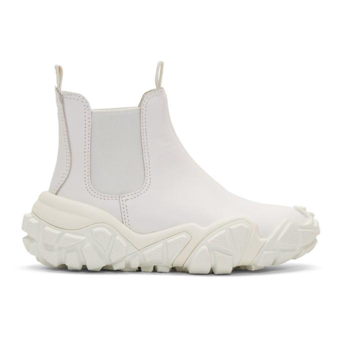 Acne Studios White Bladen Gum Boots
