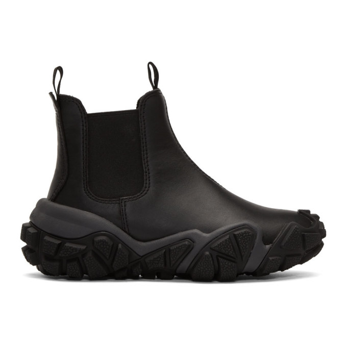 Acne Studios Black Bladen Gum Boots