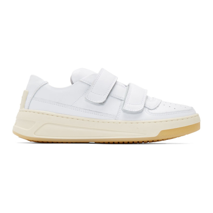 Acne Studios White Steffey Sneakers