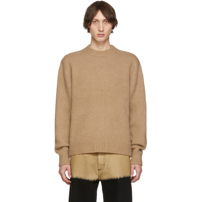 Acne Studios Brown Wool Cashmere Sweater