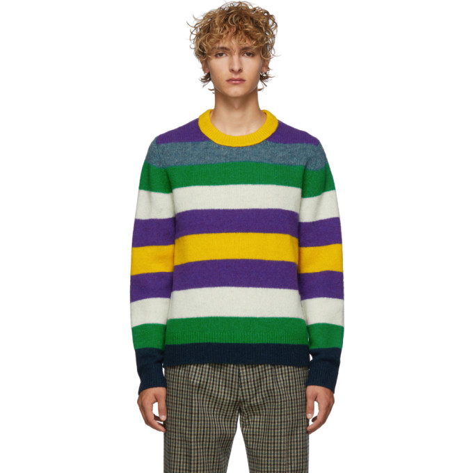 Acne Studios Multicolor Striped Wool Kai Sweater