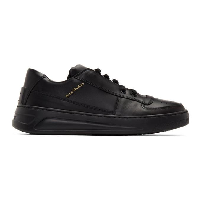 ACNE STUDIOS | Acne Studios Black Perey Sneakers | Goxip