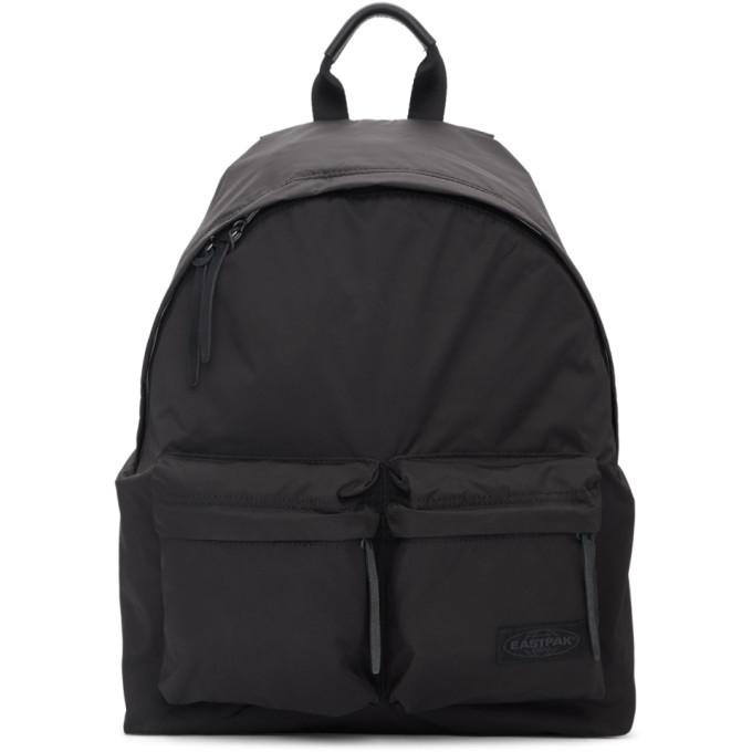 Eastpak Japan コレクション ブラック パッド ダブル バックパック