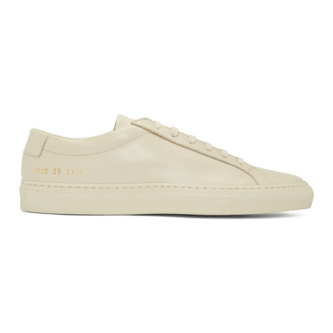 Common Projects Off-White Original Achilles Sneakers