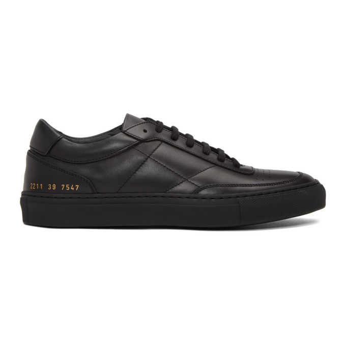 Common Projects Baskets noires Classic Resort