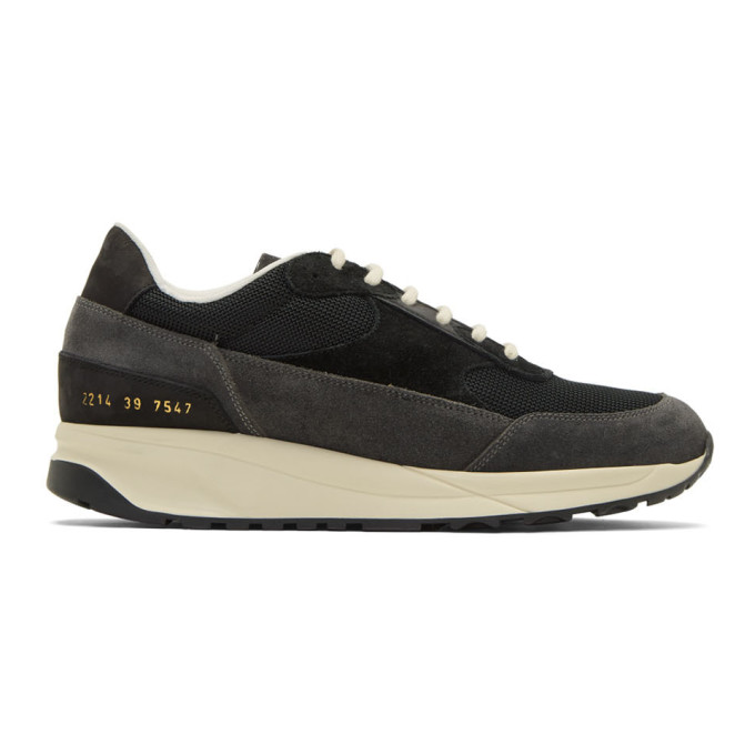 Common Projects Black Classic Track Sneakers