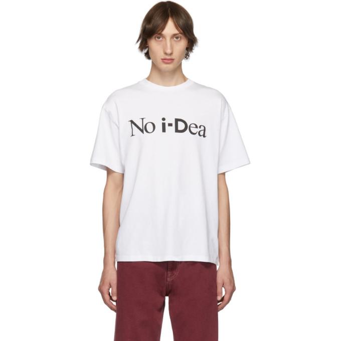 Aries T-shirt blanc No Idea edition i-D