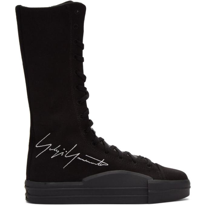 Y-3 Black Yuben Boot Sneakers
