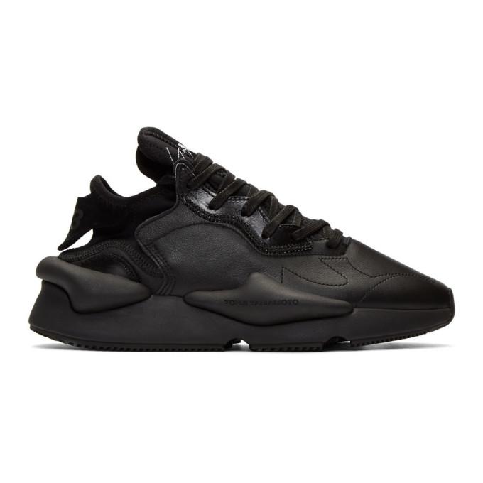Y-3 Black Kaiwa Low Sneakers