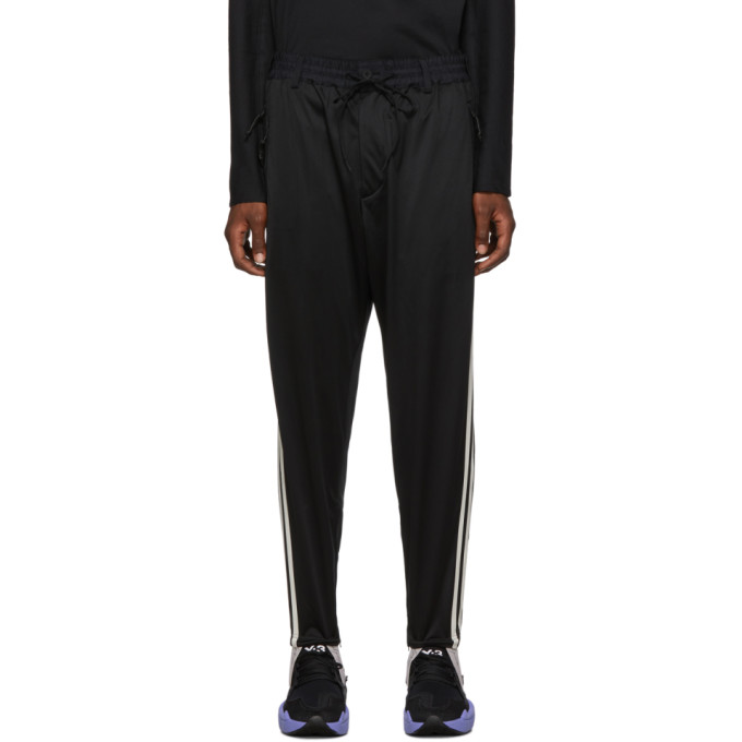 Y-3 Black Stirrup Lounge Pants