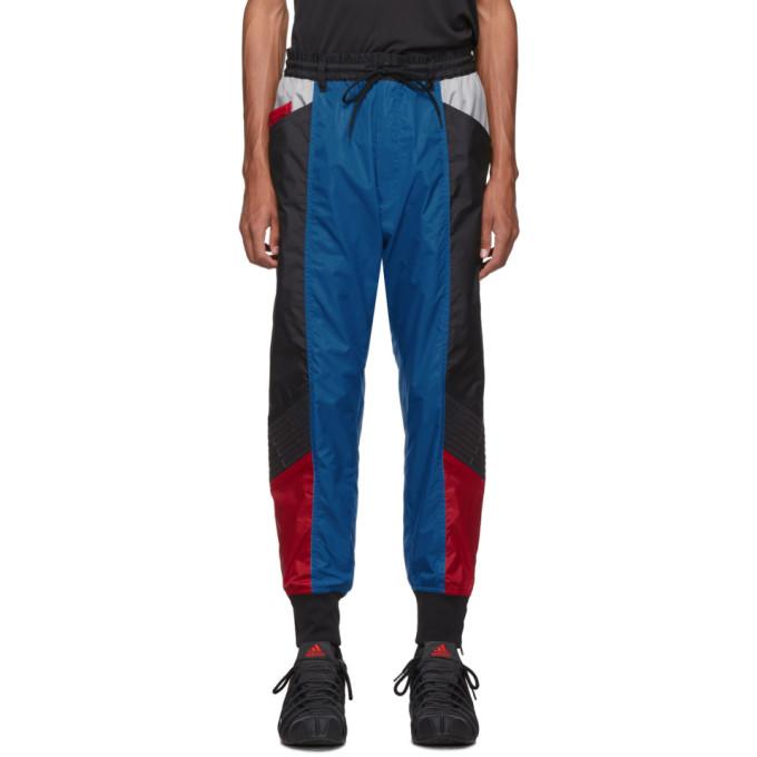 Y-3 Multicolor Colorblock Shell Track Pants