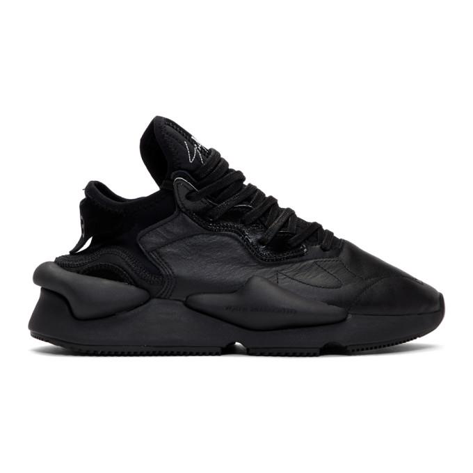 Y-3 Baskets noires Kaiwa