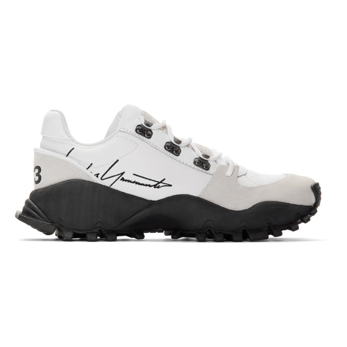 Y-3 Baskets blanches Kyoi Trail