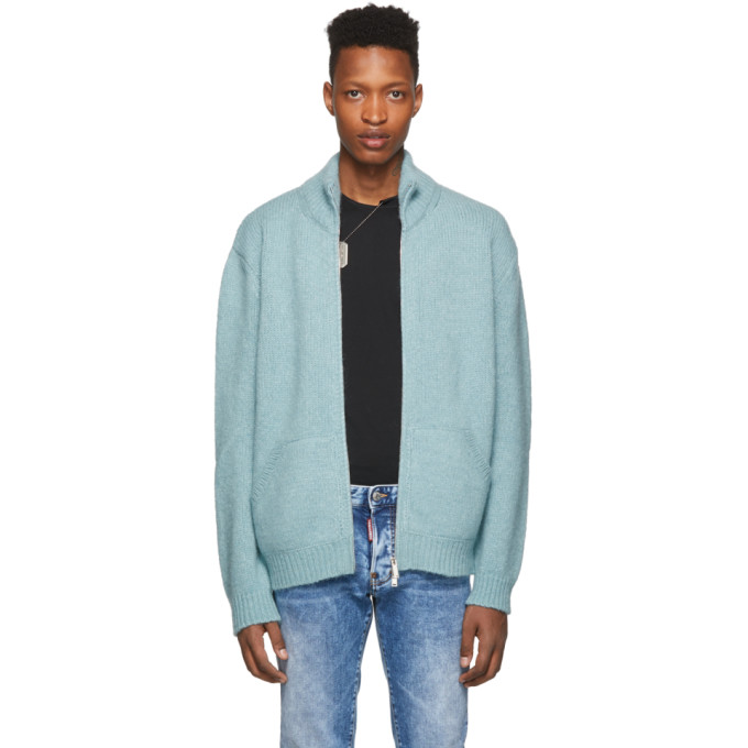 Dsquared2 ブルー アルパカ セーター