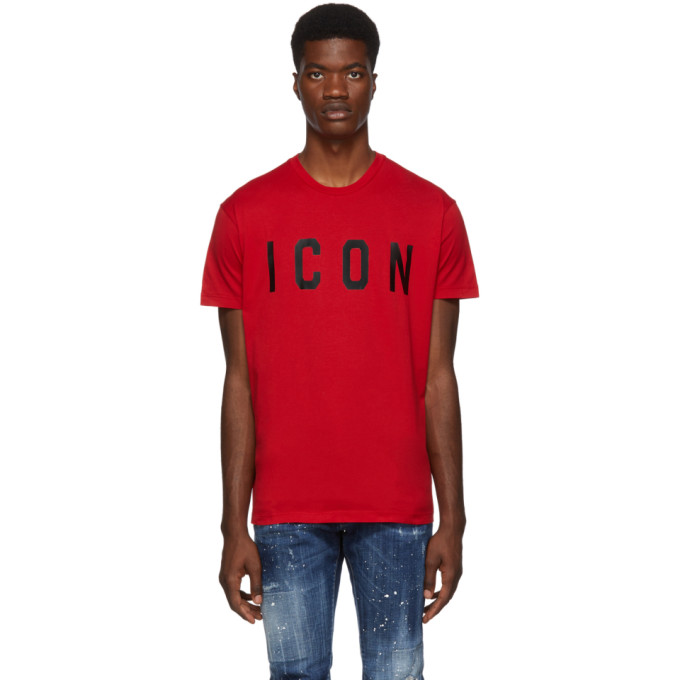 Dsquared2 Red Icon T-Shirt
