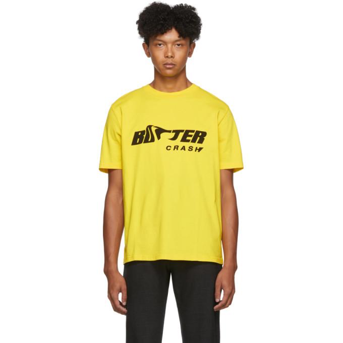 Botter T-shirt jaune Botter Crash