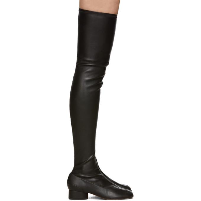 Maison Margiela Black High Tabi Boots
