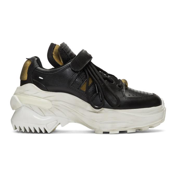Maison Margiela Black Retro Fit Sneakers