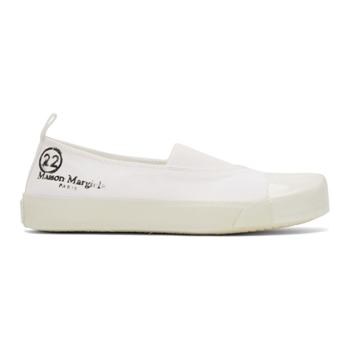 Maison Margiela White Low-Top Sneakers