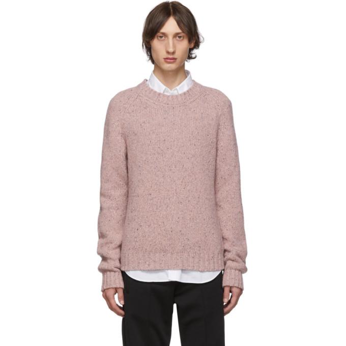 Maison Margiela ピンク ウール ゲージ 3 セーター