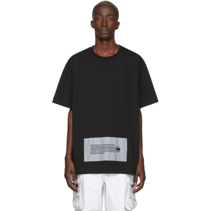Colmar A.G.E. by Shayne Oliver T-shirt a logo noir Boxy